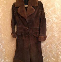 Koyun derisi ceket açık sonbahar / bahar 42-44 boyutu
