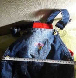 Утеплені джинси на 2 роки