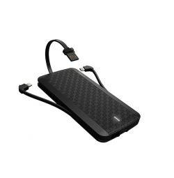 iWALK Scorpion Power bank with Cables Black