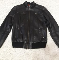 I will sell a leather jacket.