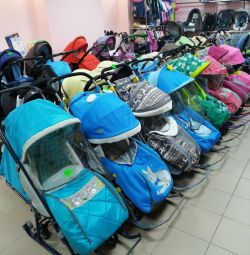 Sled strollers