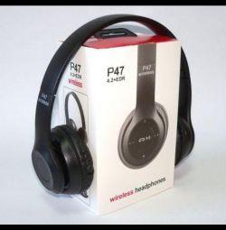 Ακουστικά bluetooth πλήρους μεγέθους.