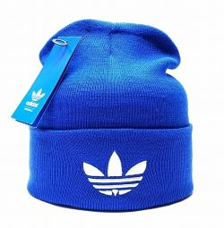 Hat adidas (blue-neon) flap