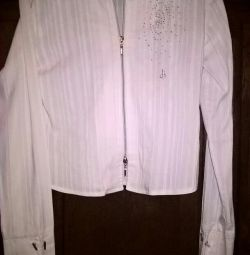 Блуза стрэтчь .б.у.