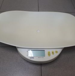 Baby scales laica