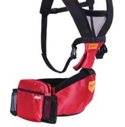 Hipseat / Carrying / Ergoryukzak / hipseat red