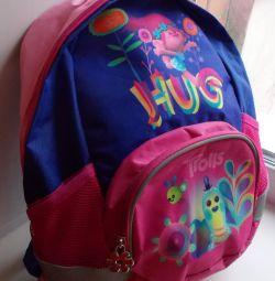 Backpack pink-blue