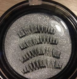 Eyelashes on magnets