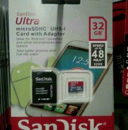 Memory Card Sandisk 32 Gb 10 class
