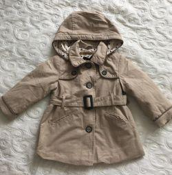 Zara raincoat for girls - 1.5-2 years