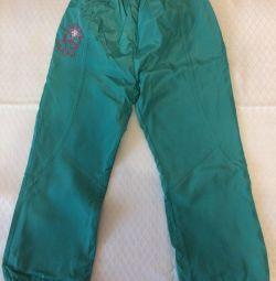 Pantaloni primăvara / toamna 104/110