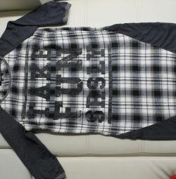 Платье- толстовка. Р.44