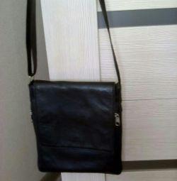 Τσάντα γνήσιο δέρμα, μέγεθος 23 # 19