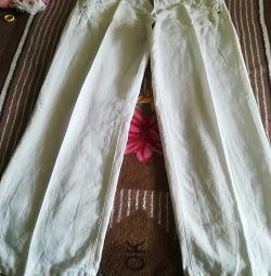 Pantaloni Len