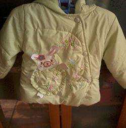 демісез. курточка, утепл., на синтепоні, 92 р