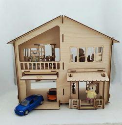Casa de papusi cu garaj !!!