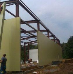 Constructii de hangare. Constructii metalice.