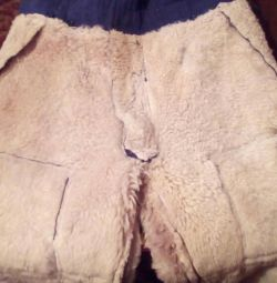 Кожанные штаны на меху.