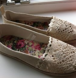Espadrilles and shoes
