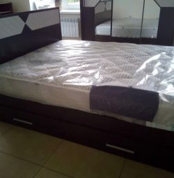 BED NICOLE 1.6 WITH BOXES NEW IN PACKING