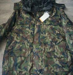 Camouflaged jacket