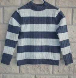 Хлопковый свитер 130 размер
