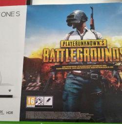 Πρόθεμα Microsoft Xbox One S 1TB + Battlegrounds