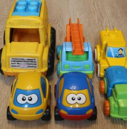 Pack of cars for kids