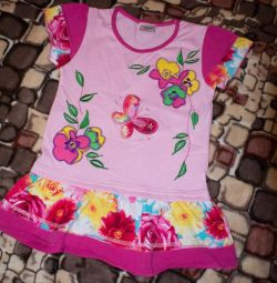Dress new for 3g or tunic for 4-5 years