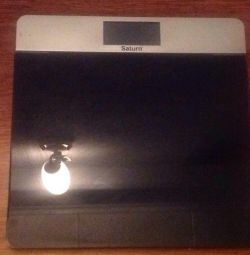 Electronic balance Saturn up to 180 kg.