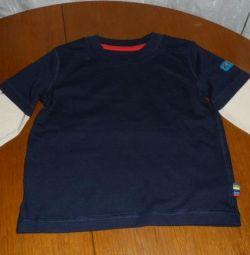Tricou cu mânecă lungă pentru băieți Mothercare nou 86 cm