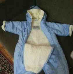 Winter jumpsuit, size 74