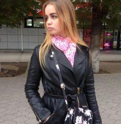 Пальто з кож.зам.