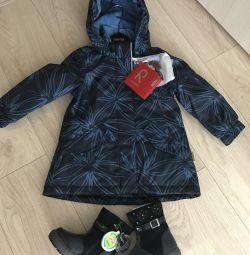 Новая зимняя куртка+новые зимние ботинки