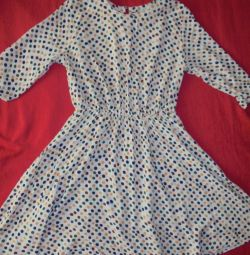 Легкое- просторе плаття 44-46р, на зростання до 170см