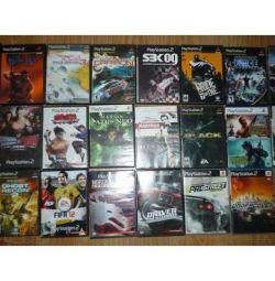 Новые игровые диски на приставку Sony ps-2