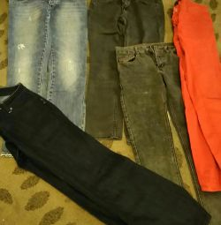 5 different jeans