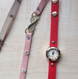 Bracelets with a watch