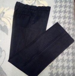 Pantaloni de bărbați, drepți 44-46, în stare excelentă