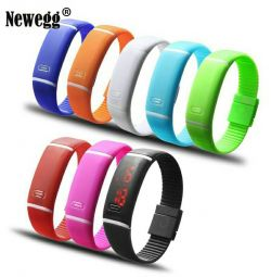 Waterproof wristband watch