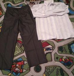 selling pants + shirt