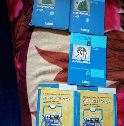 Textbooks workbooks package 8 9class