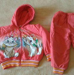 Sonbahar kıyafeti 2-3 yaşında