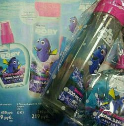 Σετ για κορίτσιαW νερό από νερό + αφρόλουτρο