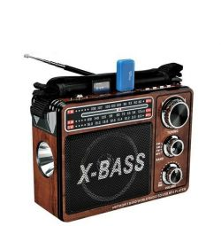 Портативний радіоприймач xb-206urt