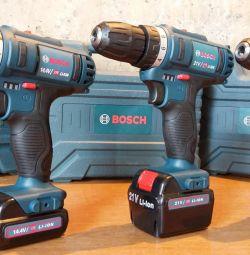 Bosch 12V, 14,4V, 21V, 26V Screwdriver New