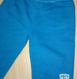 Pantaloni din tricot. Pantaloni. 80-86