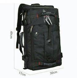 Travel bag-backpack with dimensions of hand luggage