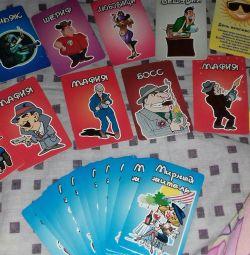 Mafia cards cute little dogs