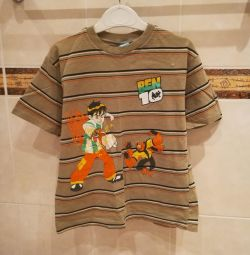 T-shirt for a boy of 7-8 years Ben 10